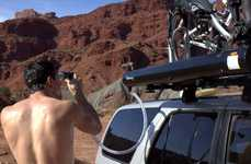 Roof-Mounted Suffuse Systems - The Road Shower Lets You Get Fresh and Clean on the Go
