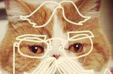 Cat-Doodling Instagram Accounts - Coffelt's Cat Instagram Account Draws Cats to Perfection