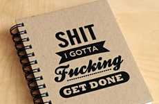 Blunt To-Do List Notebooks - Never Forget the Urgency Of Your Tasks with These Funny Notebooks