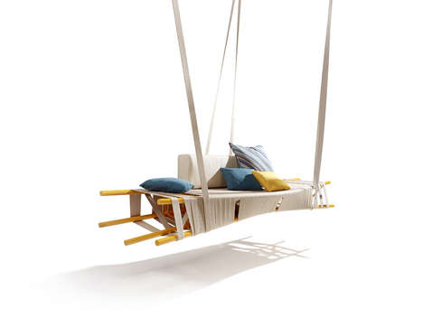 Swathed Stick Seating