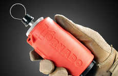Dangerous Detonating Toys - The Airsoft Innovation Tornado Crash Impact Grenade Will Blow You Away