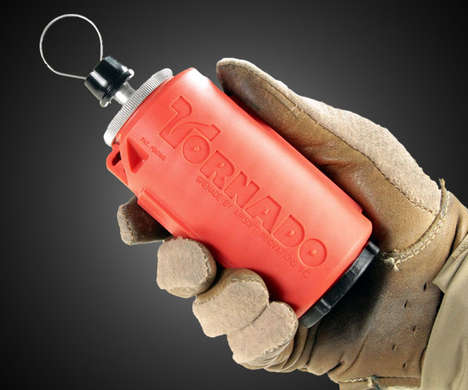 The Airsoft Innovation Tornado Crash Impact Grenade Will Blow You Away