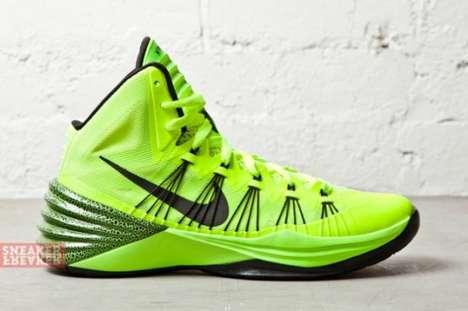 Vibrant Hoop Sneakers