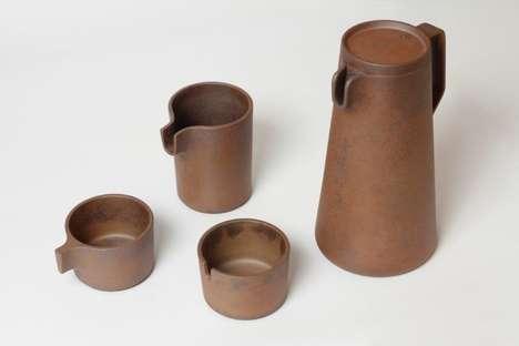Rustic Ceramic Tea Sets
