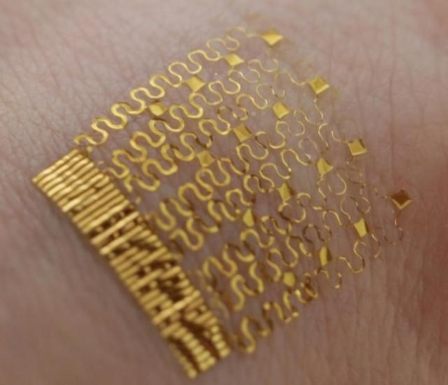 Temperature-Tracking Tattoos