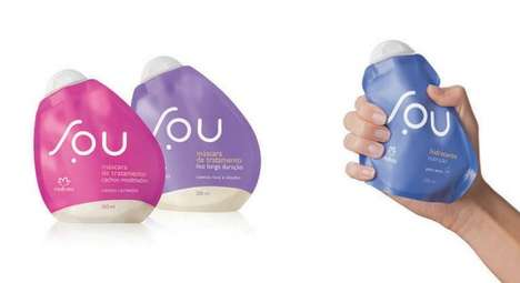 Egg-Shaped Eco Shampoo