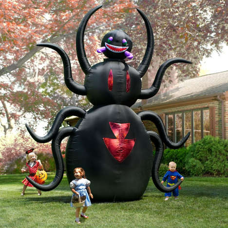 This 12 Foot Inflatable Spider Will Scare Your Kids