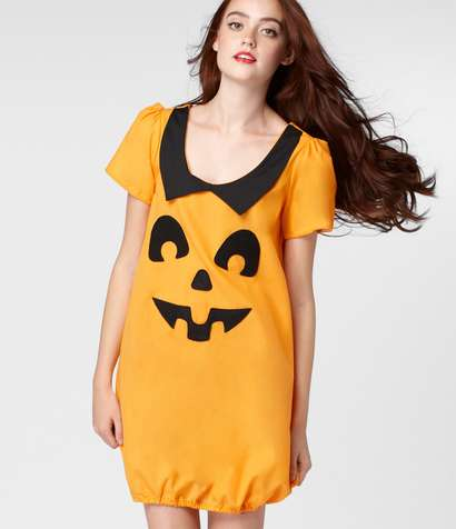 Pumpkin-Inspired Halloween Outfits - This Cute Costume Dress is Jack-O-Dorable