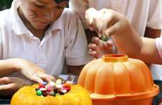 Halloween Cake Molds - This 3D Pumpkin Container Makes Cute Confections