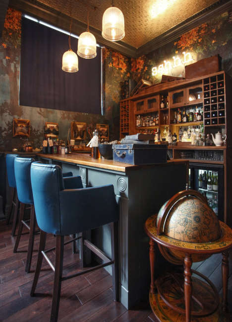 Whimsical Vintage Restaurants