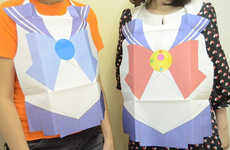 Nostalgic Manga-Inspired Bibs - Feel Like a Kid Again with These Sailor Moon Adult Bibs