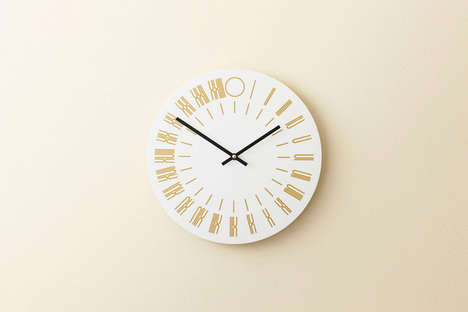 Contemporary Typographic Clocks