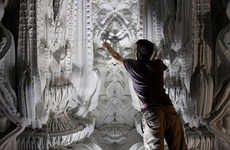 Intricate 3D Printed Rooms