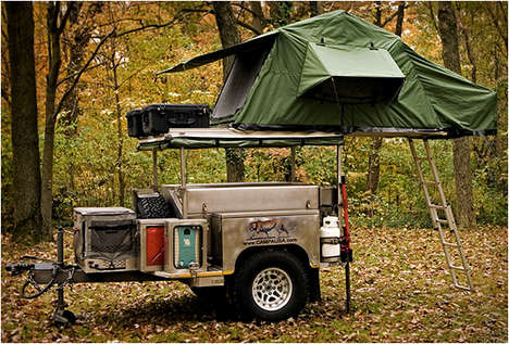 Versatile Camping Trailers - The Campa USA All Terrain Trailer Has Everything for Outdoor Getaways