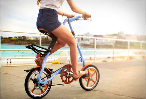 Portable Pocket Bikes - The Strida Foldable Bike is Portable and Wholly Productive
