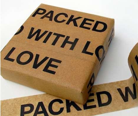 Stickable Romantic Gift Wrap