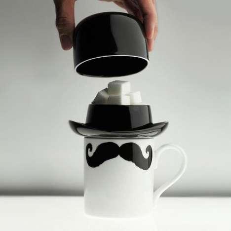 Bowler Hat Sugar Bowls