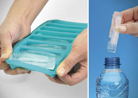 Water Bottle Ice Cubes