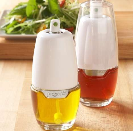 Eco Oil Dispensers - Prepara's Tabletop Oil Mister is a Healthy Alternative to Aerosol Containers