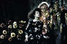 Eerie Victorian Editorials - This Valentino-Inspired Editorial Has a Dark Forest Feel