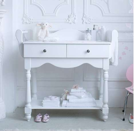 Age-Adapting Dressing Tables