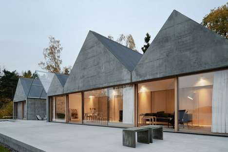 Triangular Summer Houses