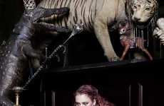 Animalistic Aristocrat Photography