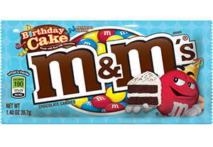 Cake-Flavored Classic Candies - These Tasty Cake Flavored M&M's Will Be Available Come
