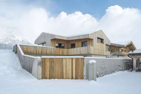 Wooden Ark-Like Abodes