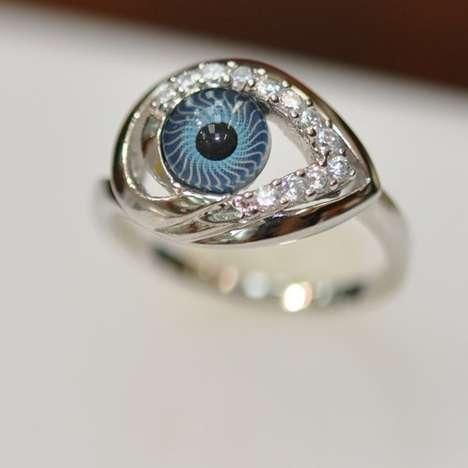 Shimmering Eye Rings