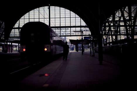 Gloomy Train-Traveling Photos