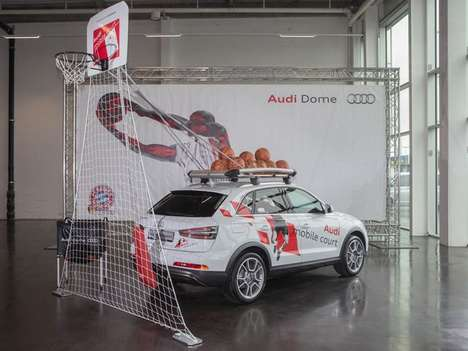 Luxury SUV Ball Courts