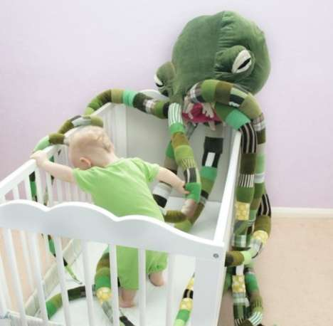 Cuddly Sci-Fi Creatures - The Giant Cthulhu Plush is a Cuddlier Version of the Famous Monster