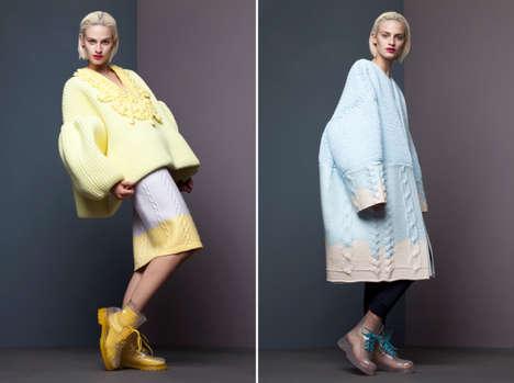 Marshmallowy Knitted Fashion