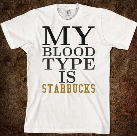Comedic Coffee-Obsessed Attire