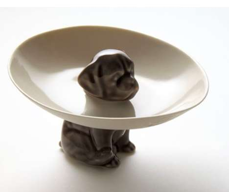 Dog Cone Serving Plates
