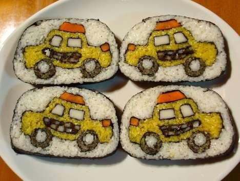 Edible Sushi Canvasses