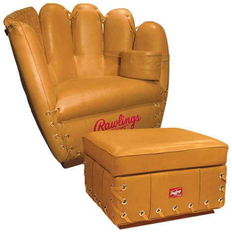 Baseball Glove Furnishings