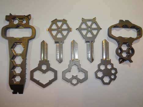 Multifaceted Household Keys