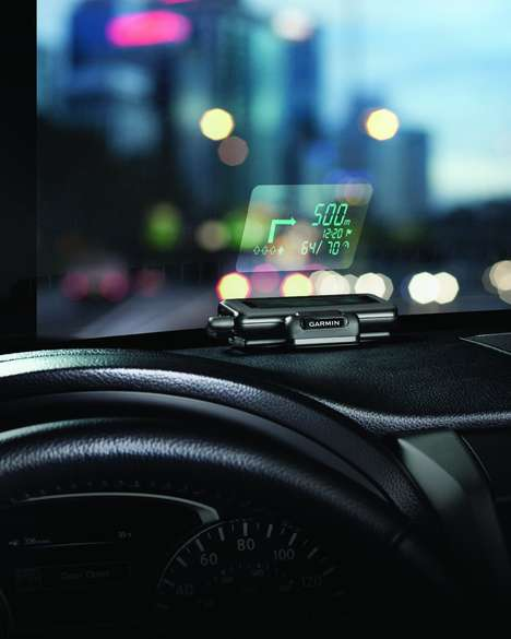 The Garmin Heads-Up Display Projects GPS to Your Windshield