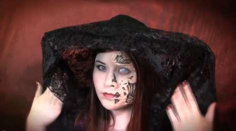 Vampiric Face-Rotting Makeup