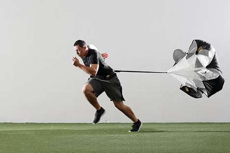 Athlete-Training Parachutes - The SKLZ Speed Resistance Training Parachute is Key for Training