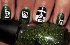 Drama TV Series Manicures - This Breaking Bad Nail Art Pays Tribute to the Hit Television Show