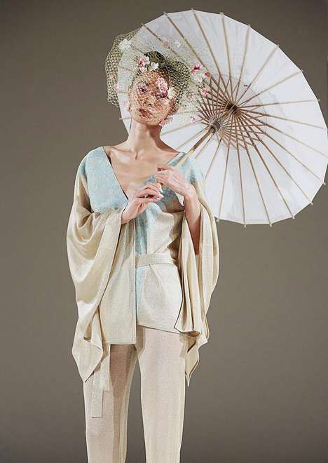 Ethereal Asian-Inspired Ensembles