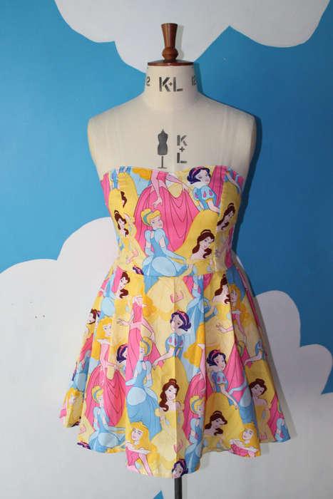 Princess Collage Dresses
