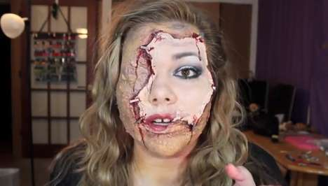 Stapled Skin Makeup Tutorials