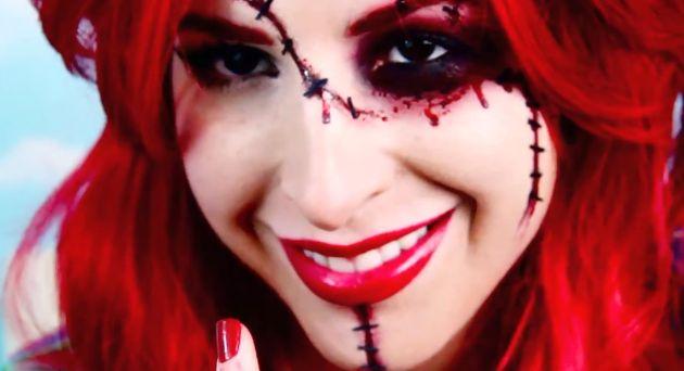 Creepy Doll Makeup Tutorials : creepy
