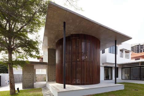 Contemporary Circular Homes