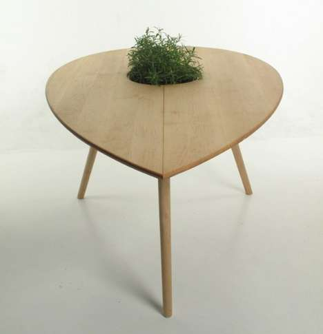 Seed-Shaped Table