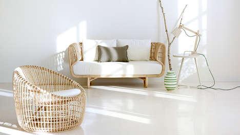 Refreshingly Modern Rattan Furniture